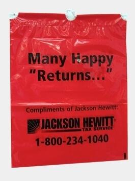 Jackson Hewitt bag