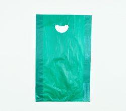 Dark Green Handle Bag