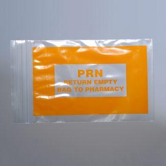 Ziplock- Reclosable bag