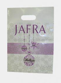 Jafra Custom Printed Plastic Bags
