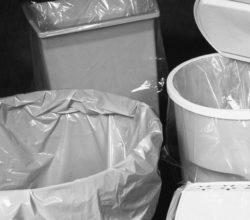 High Density- Frosted Trash Bag